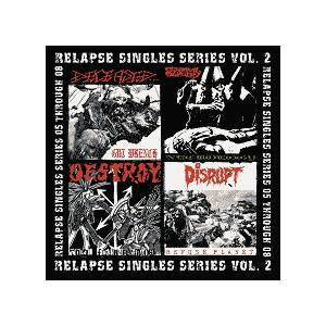 Disrupt: Relapse Singles Series Vol. 2 - Cover