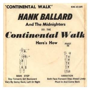 Cover - Hank Ballard & The Midnighters: Continental Walk, The