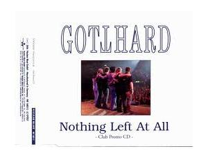 Gotthard: Nothing Left at All - Cover