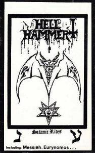 Hellhammer: Satanic Rites - Cover