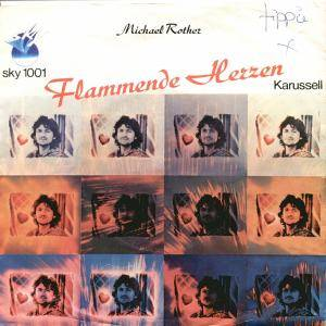 Cover - Michael Rother: Flammende Herzen