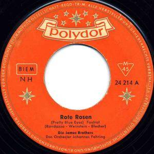 Cover - James Brothers, Die: Rote Rosen