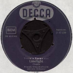 Cover - Frank Chacksfield & His Orchestra: Limelight