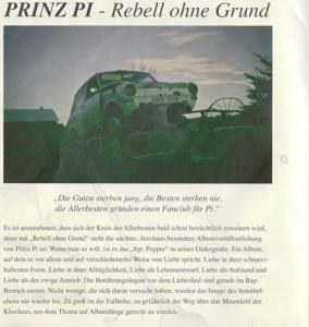 Prinz Pi: Rebell Ohne Grund (Promo-CD) - Bild 2