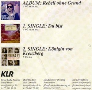 Prinz Pi: Rebell Ohne Grund (Promo-CD) - Bild 4