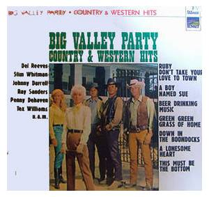 Cover - Tex Williams: Big Valley Party
