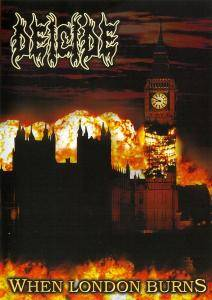 Deicide: When London Burns - Cover