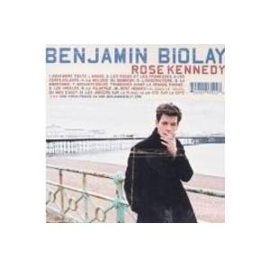Benjamin Biolay: Rose Kennedy - Cover