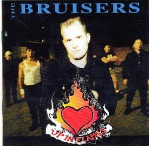 Cover - Bruisers: Up In Flames