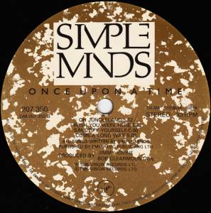 Simple Minds: Once Upon A Time (LP) - Bild 7