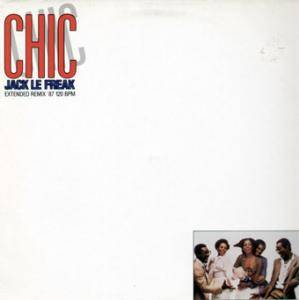 Chic: Jack Le Freak - Cover