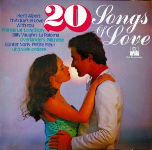Cover - Blue Haze: 20 Songs Of Love