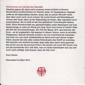 Die Toten Hosen: Ballast Der Republik (2-CD) - Bild 6