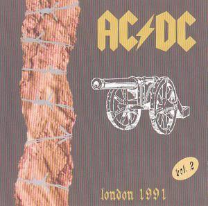 AC/DC: London 1991 Vol. 2 - Cover