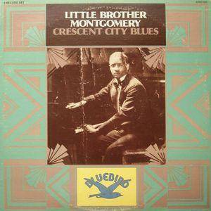 Cover - Little Brother Montgomery: Crescent City Blues