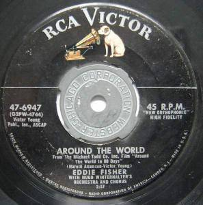 Cover - Eddie Fisher: Around The World