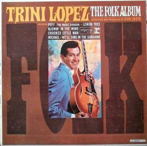 Cover - Trini Lopez: Folk Album, The