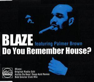 Cover - Blaze: Do You Remember House?