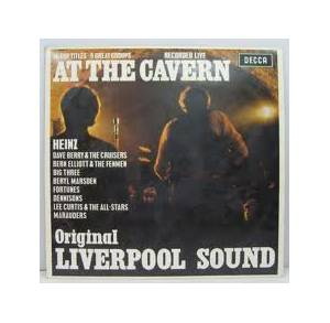 Cover - Bern Elliott & The Fenmen: At The Cavern - Original Liverpool Sound