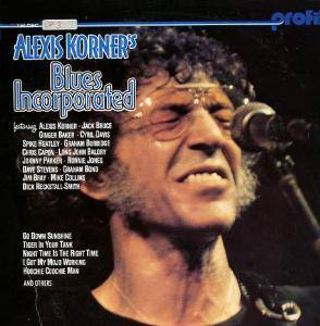 Cover - Alexis Korner's Blues Incorporated: Profile - Alexis Korner's Blues Incorporated