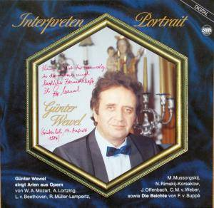 Cover - Günter Wewel: Interpretenportrait