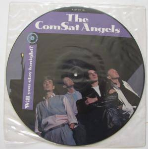 The Comsat Angels: Will You Stay Tonight? - Cover