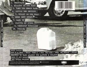 Rage Against The Machine: Rage Against The Machine (CD) - Bild 2