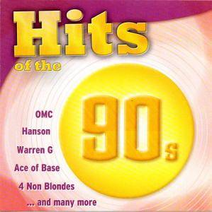 Hits Of The 90s - Cover