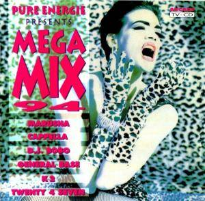 Cover - Mash!: Pure Energie Presents Mega Mix 94