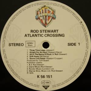 Rod Stewart: Atlantic Crossing (LP) - Bild 3