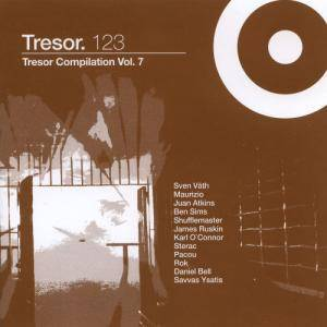 Cover - Rok: Tresor.123 Tresor Compilation Volume 7