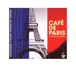 Cover - Jean Gabin: Café De Paris - 50 French Classics
