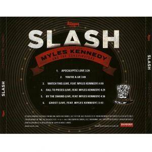 Slash Feat. Myles Kennedy And The Conspirators: Apocalyptic Hammer (Mini-CD / EP) - Bild 5