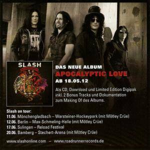 Slash Feat. Myles Kennedy And The Conspirators: Apocalyptic Hammer (Mini-CD / EP) - Bild 7
