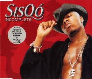 Cover - Sisqó: Incomplete