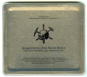 Something For Your Mind - The Zoth Ommog Label Compilation - Cover