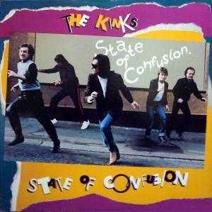 The Kinks: State Of Confusion - Cover