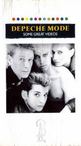 Depeche Mode: Some Great Videos - Cover