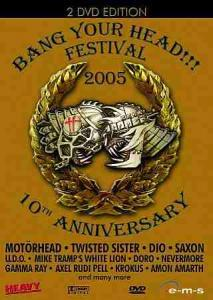 Bang Your Head!!! Festival 2005 - 10th Anniversary - Cover