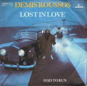 Demis Roussos: Lost In Love - Cover