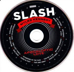 Slash Featuring Myles Kennedy And The Conspirators: Apocalyptic Love (CD + DVD) - Bild 3