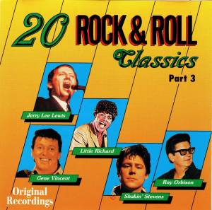 Cover - Dee Dee Sharp: 20 Rock & Roll Classics Part 3