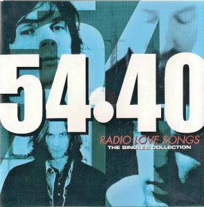 Cover - 54●40: Radio Love Songs - The Single Collection