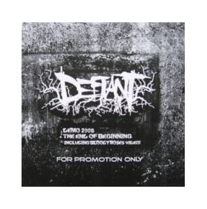 Defiant: Demo 2008 + The End Of Beginning - Cover