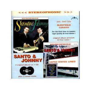 Cover - Santo & Johnny: Santo & Johnny / Around The World