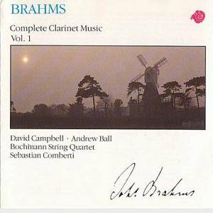 Cover - Johannes Brahms: Complete Clarinet Music Vol. 1