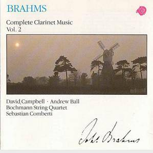 Cover - Johannes Brahms: Complete Clarinet Music Vol. 2