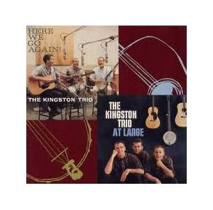 Cover - Kingston Trio, The: At Large / Here We Go Again