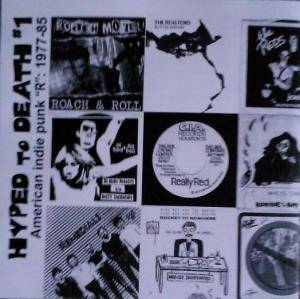 "Cover - Red Tide: Hyped To Death #1 - American Indie Punk ""R"": 1977-85"