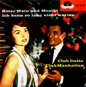Cover - Club Italia: Roter Wein Und Musik